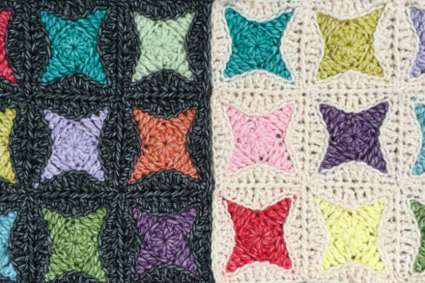 Nova Star Crochet Square Free Tutorial