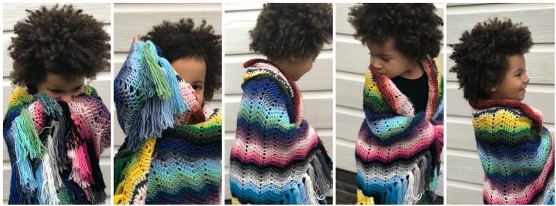 Serape Ripple Crochet Pattern